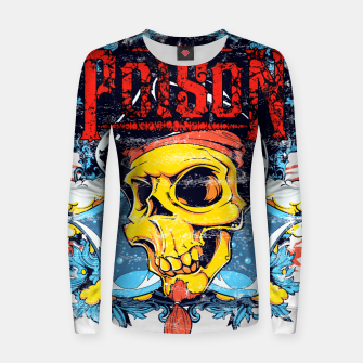 Thumbnail image of POISON Women sweater, Live Heroes