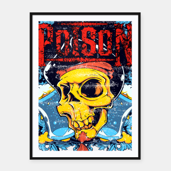 Thumbnail image of POISON Framed poster, Live Heroes