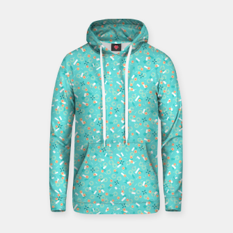 Miniatur Candy Camouflage in Aquamarine Hoodie, Live Heroes