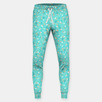 Miniatur Candy Camouflage in Aquamarine Sweatpants, Live Heroes