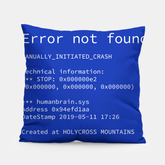 Thumbnail image of Blue Screen of Death Poduszka, Live Heroes