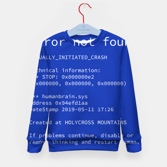 Thumbnail image of Blue Screen of Death Bluza dziecięca, Live Heroes