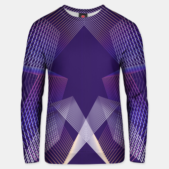 Geometric pattern Unisex sweater thumbnail image