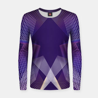 Geometric pattern Women sweater thumbnail image
