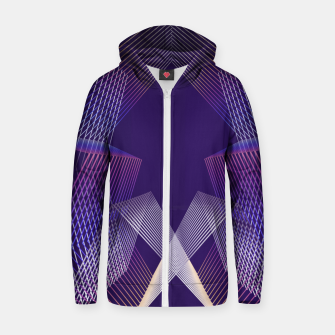 Geometric pattern Zip up hoodie thumbnail image