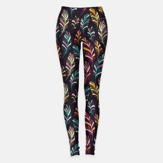 Miniatur Dark Feathers Leggings, Live Heroes