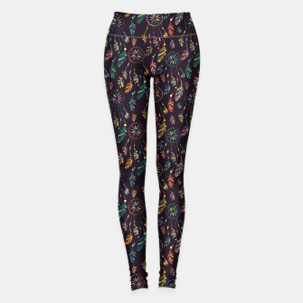 Thumbnail image of Dark Dreamcatcher Leggings, Live Heroes