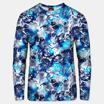 Thumbnail image of Spider Seashell Shibori Unisex sweater, Live Heroes