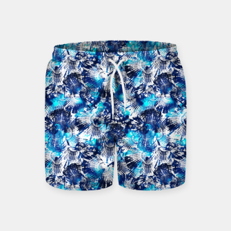 Thumbnail image of Spider Seashell Shibori Swim Shorts, Live Heroes