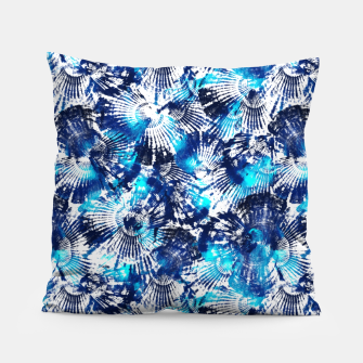 Thumbnail image of Spider Seashell Shibori Pillow, Live Heroes