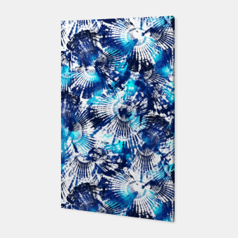 Thumbnail image of Spider Seashell Shibori Canvas, Live Heroes