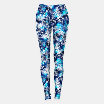 Thumbnail image of Spider Seashell Shibori Leggings, Live Heroes