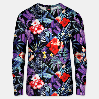 Miniatur Tropical Trends Unisex sweater, Live Heroes