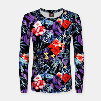 Miniatur Tropical Trends Women sweater, Live Heroes