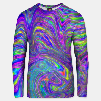 Thumbnail image of Abstract With Blue Unisex sweater, Live Heroes