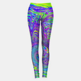 Abstract With Blue Leggings thumbnail image