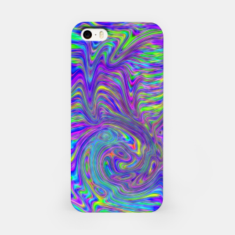 Thumbnail image of Abstract With Blue iPhone Case, Live Heroes