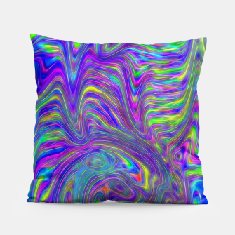 Abstract With Blue Pillow thumbnail image