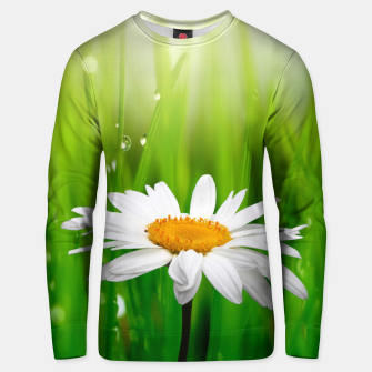 Thumbnail image of Daisy Unisex sweater, Live Heroes