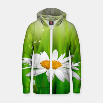 Thumbnail image of Daisy Zip up hoodie, Live Heroes