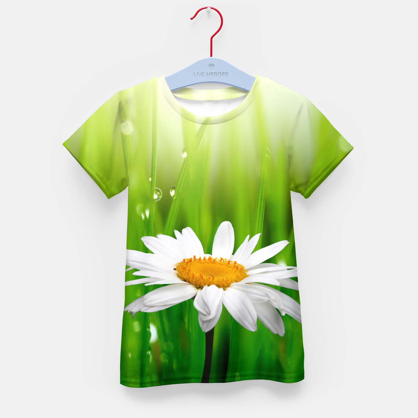 Image of Daisy Kid's t-shirt - Live Heroes
