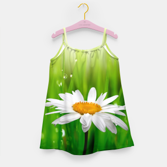 Daisy Girl's dress obraz miniatury