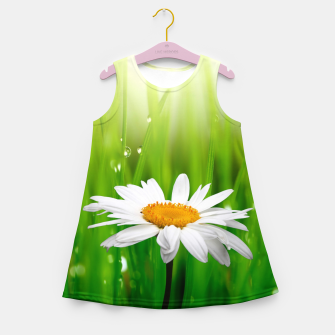 Daisy Girl's summer dress obraz miniatury