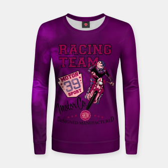 Thumbnail image of Off-Road Motocross Addiction Women sweater, Live Heroes