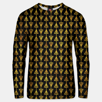 Simple Gold Pattern - 05 Unisex sweater Bild der Miniatur
