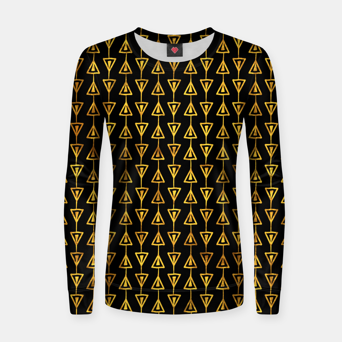Foto Simple Gold Pattern - 05 Women sweater - Live Heroes