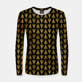 Simple Gold Pattern - 05 Women sweater Bild der Miniatur
