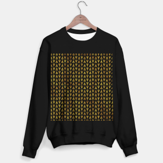 Simple Gold Pattern - 05 Sweater regular Bild der Miniatur