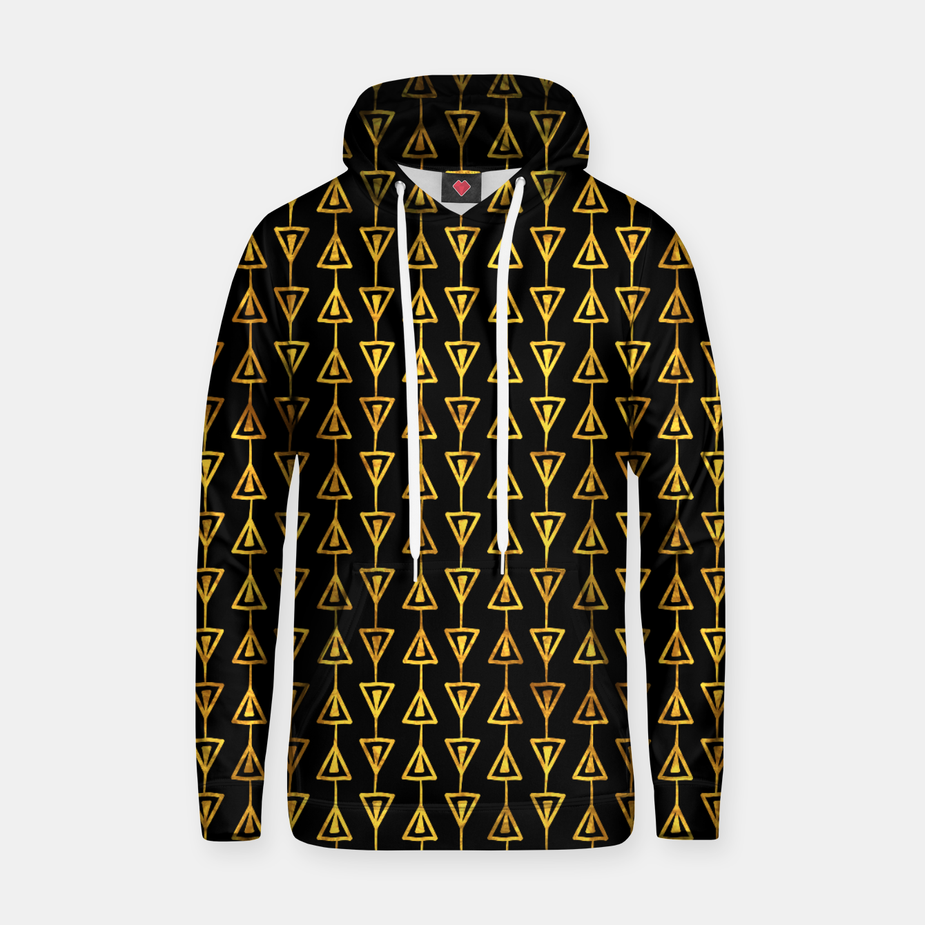 Foto Simple Gold Pattern - 05 Hoodie - Live Heroes