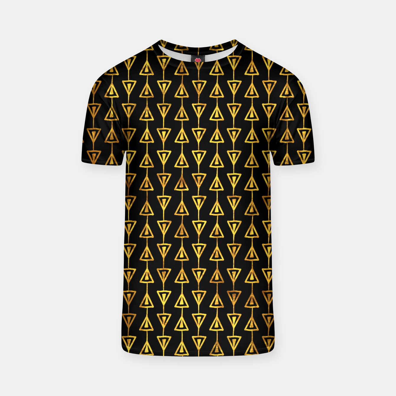 Foto Simple Gold Pattern - 05 T-shirt - Live Heroes