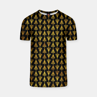 Simple Gold Pattern - 05 T-shirt Bild der Miniatur