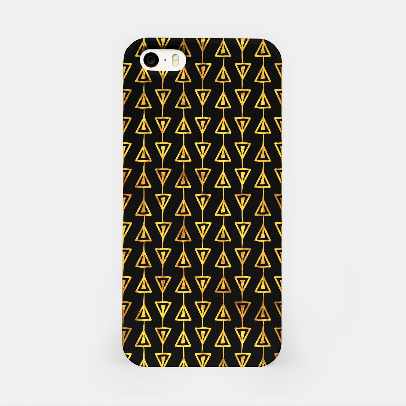 Foto Simple Gold Pattern - 05 iPhone Case - Live Heroes