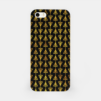Simple Gold Pattern - 05 iPhone Case Bild der Miniatur