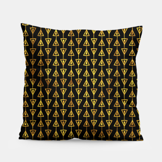 Simple Gold Pattern - 05 Pillow Bild der Miniatur