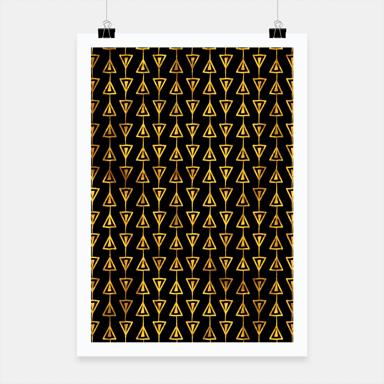 Foto Simple Gold Pattern - 05 Poster - Live Heroes