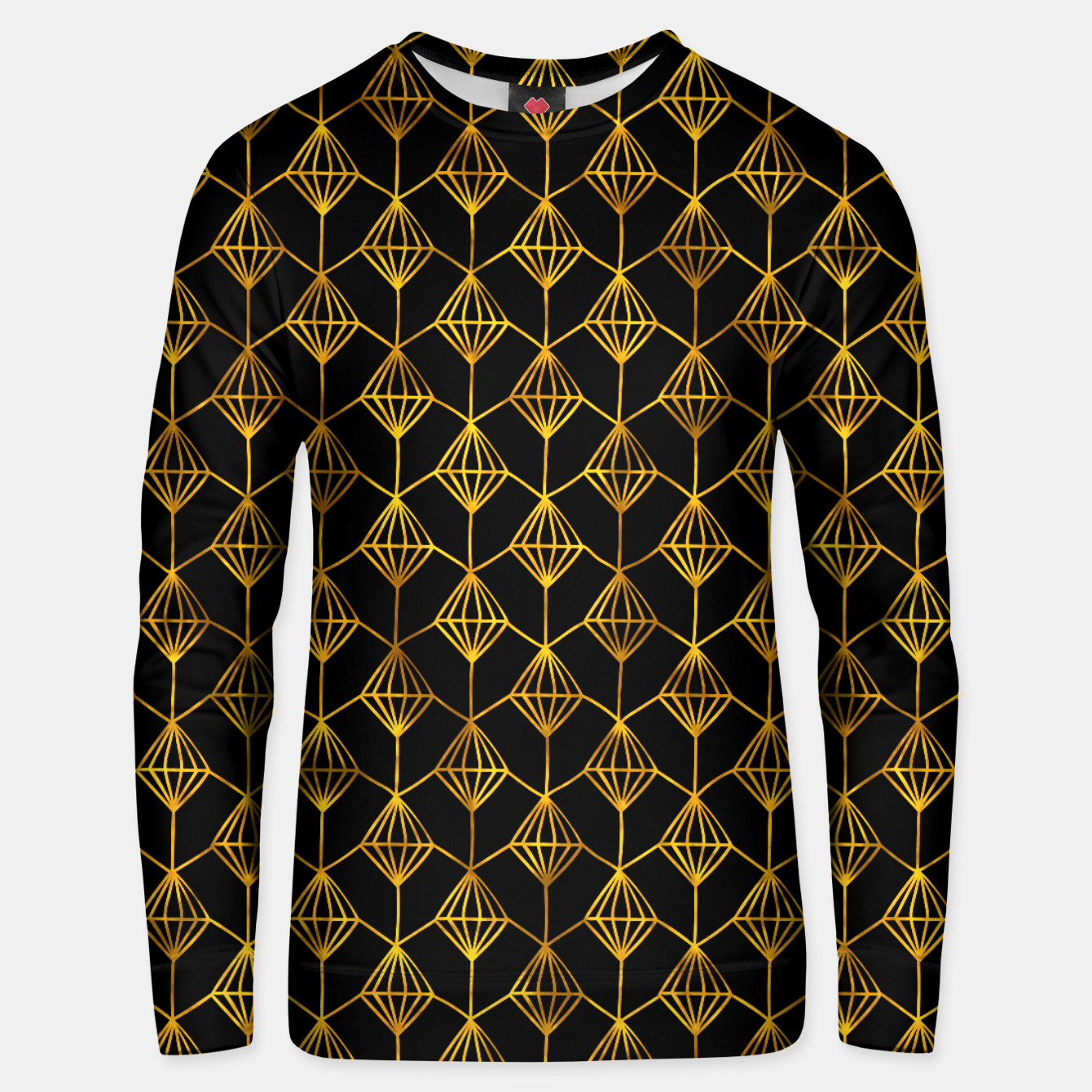 Foto Simple Gold Pattern - 06 Unisex sweater - Live Heroes