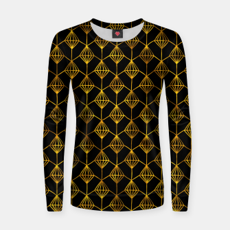 Simple Gold Pattern - 06 Women sweater Bild der Miniatur
