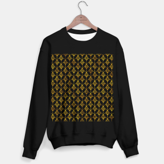 Simple Gold Pattern - 06 Sweater regular Bild der Miniatur