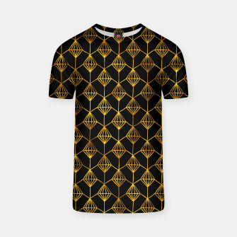 Simple Gold Pattern - 06 T-shirt Bild der Miniatur