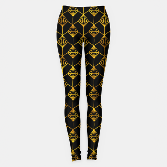 Miniatur Simple Gold Pattern - 06 Leggings, Live Heroes