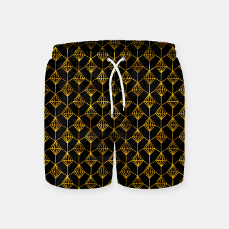 Simple Gold Pattern - 06 Swim Shorts Bild der Miniatur