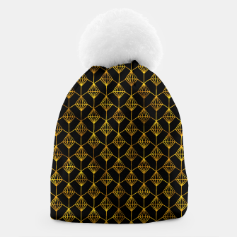 Simple Gold Pattern - 06 Beanie Bild der Miniatur