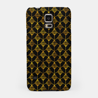 Miniatur Simple Gold Pattern - 06 Samsung Case, Live Heroes
