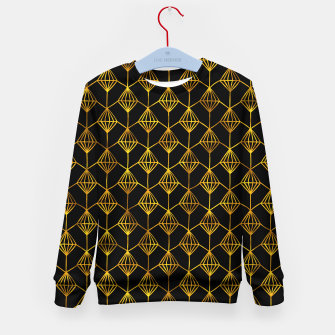 Simple Gold Pattern - 06 Kid's sweater Bild der Miniatur