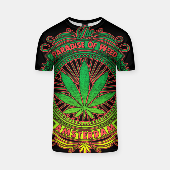 Thumbnail image of PARADISE OF WEED T-shirt, Live Heroes