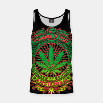 Thumbnail image of PARADISE OF WEED Tank Top, Live Heroes